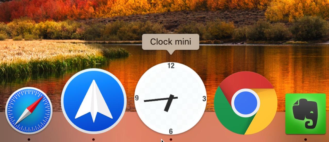 Clock mini2