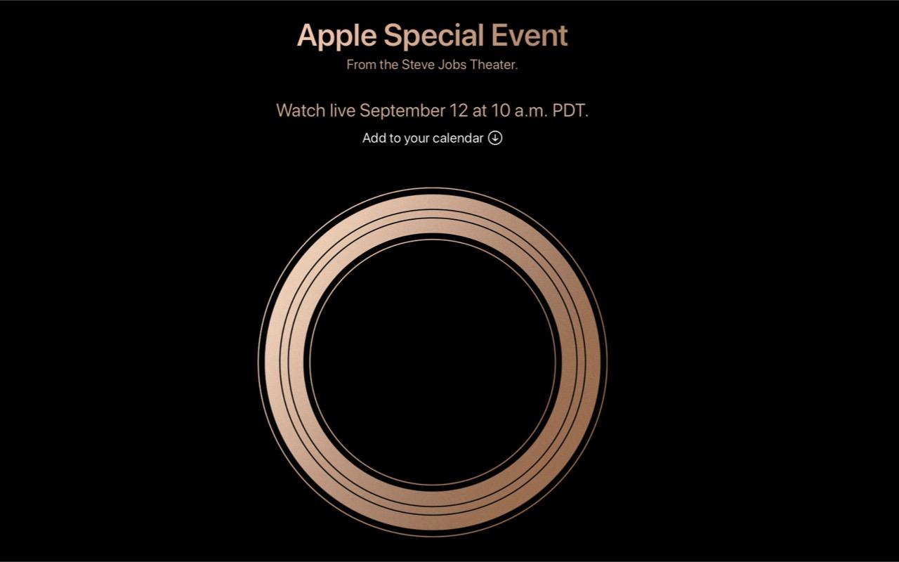 Apple、9月12日にスペシャルイベント開催 ― 新型 iPhone 発表へ