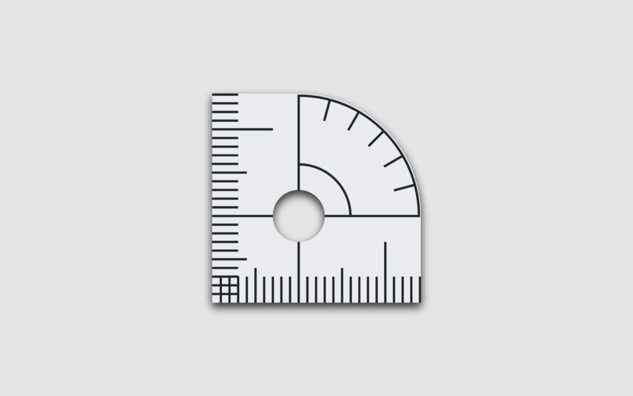 Macアプリ ― 画面に定規や分度器を表示できる「Measurist」