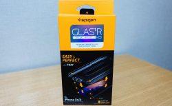 【レビュー】Spigen 貼り付けキット付き「Glas.tR EZ Fit」iPhone X/XS  ガラスフィルム