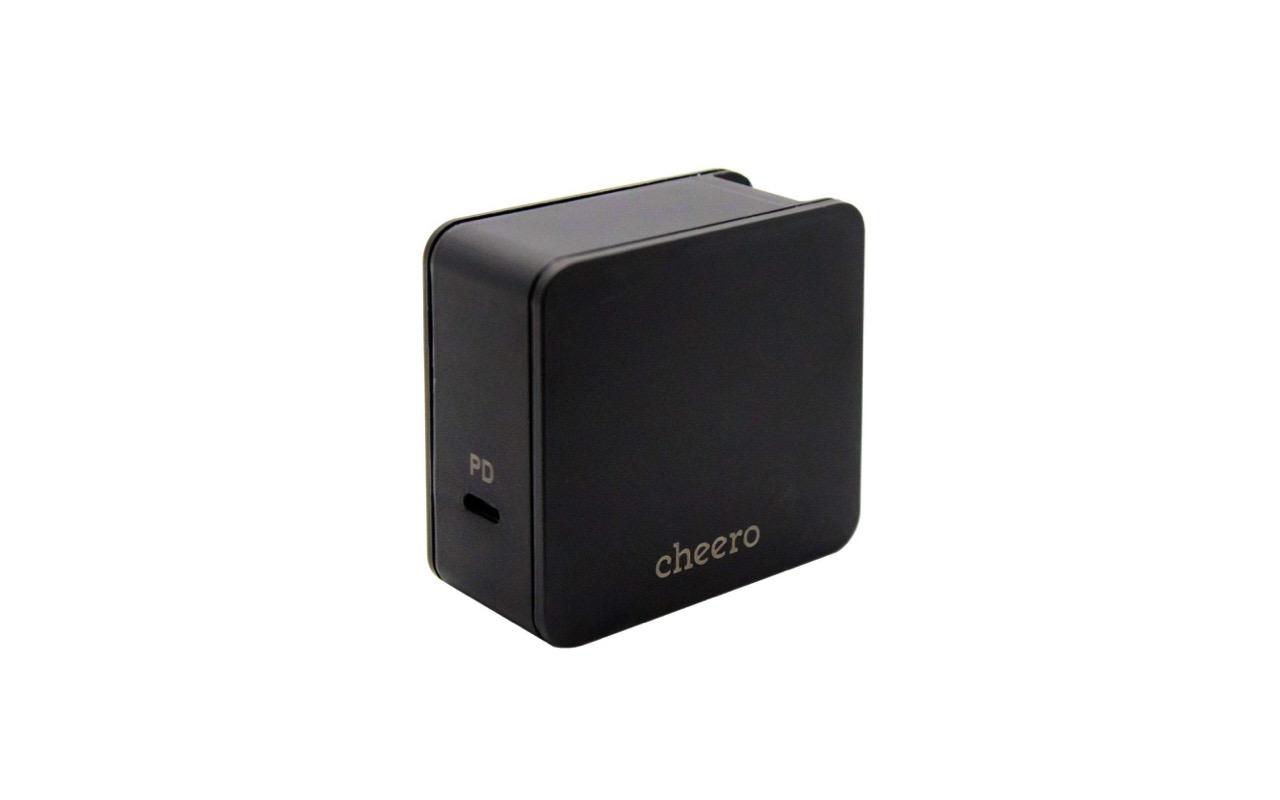 MacBook Pro・スイッチも充電できる cheero のUSB-C 電源アダプタ