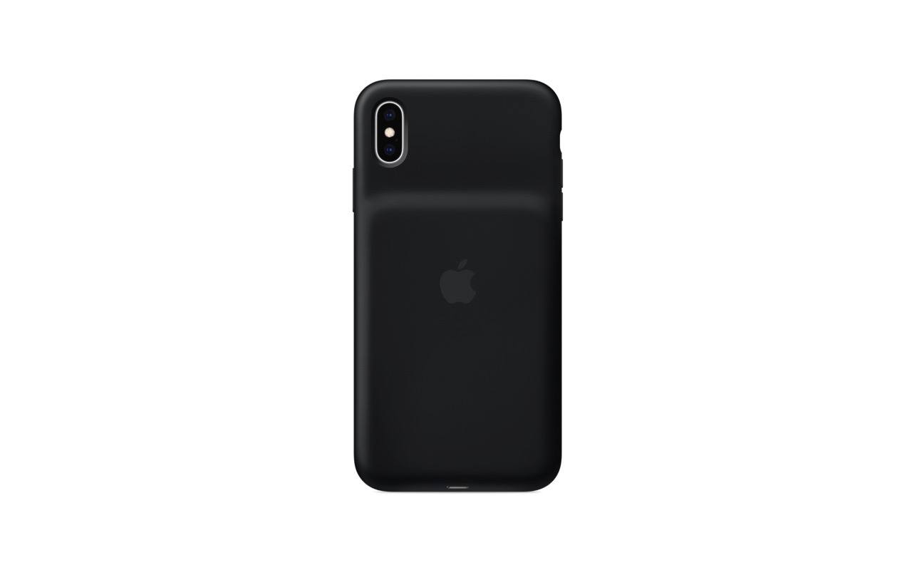 Apple、iPhone XR/XS/XS Max バッテリー内蔵ケース「Smart Battery Case」発売開始