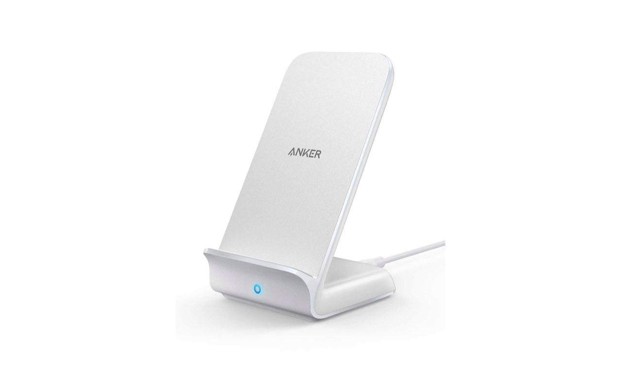 ホワイトモデル発売!Anker PowerWave 7.5 Stand ワイヤレス充電スタン