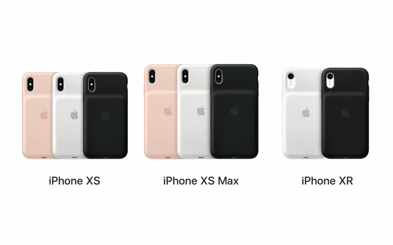 Apple、iPhone XS/XR向け Smart Battery Case交換プログラム開始